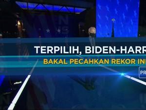 Terpilih, Biden-Harris Bakal Pecahkan Rekor Ini!