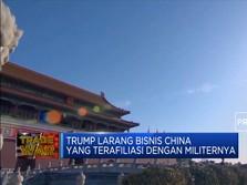 Trump Larang Warganya Berinvestasi di Perusahaan China
