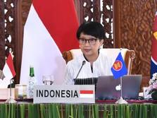 Kedubes RI Diserbu Demo, Menlu Retno Batal Terbang ke Myanmar