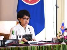 Buka-bukan Menlu Retno Marsudi yang Batal Sambangi Myanmar