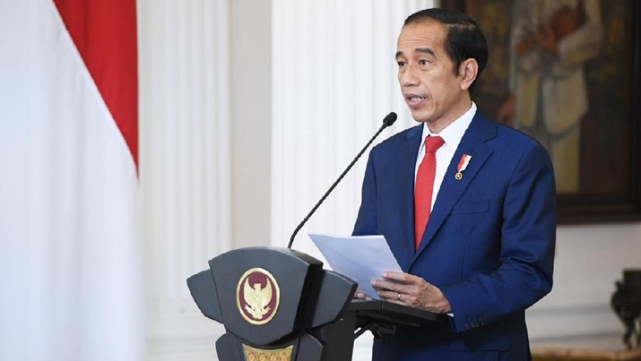 Sambutan Presiden Jokowi pada ASEAN Business and Investment Summit (ABIS) 2020, 14 November 2020. (Foto: Lukas - Biro Pers Sekretariat Presiden)