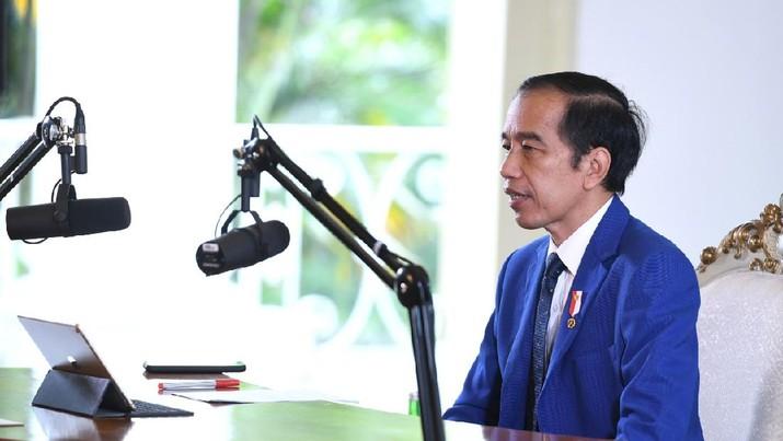 Presiden: PBB Harus Berperan Penuhi Akses Terhadap Obat-Obatan dan Vaksin bagi Semua. (Lukas - Biro Pers Sekretariat Presiden)
