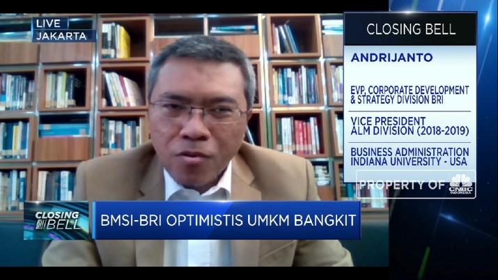 BMSI, Indeks Ancuan Bagi Pengembangan Bisnis UMKM BRI  (CNBC Indonesia TV)