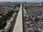 Penampakan Terbaru dari Udara Proyek 6 Tol Dalam Kota Jakarta