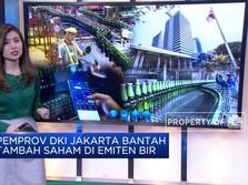 Pemprov DKI Jakarta Bantah Tambah Saham di Emiten Bir Anker