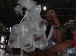 Duh! Pengunjung Pasar Ikan Hias di Bogor Abaikan Jaga Jarak