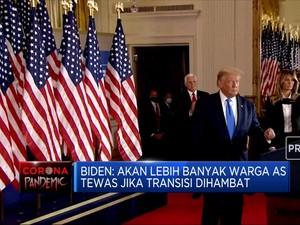 Biden Peringatkan Trump Soal Transisi Kekuasaan