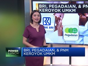 BRI, Pegadaian, & PNM Keroyok UMKM