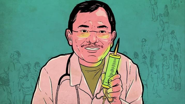 Infografis: 107 Juta Warga +62 Bakal Disuntik Vaksin Covid & Rinciannya