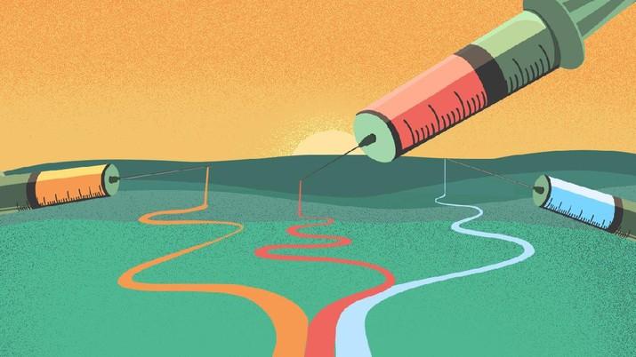 INFOGRAFIS, Ini Dia 3 Vaksin Covid-19 Termanjur