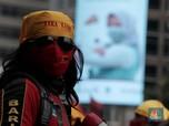Usai DPR, Massa Buruh Hingga Mahasiswa Geruduk Kantor Nadiem