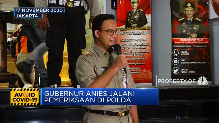 Anies Dicerca 33 Pertanyaan Soal Kerumunan Massa FPI (CNBC Indonesia TV)