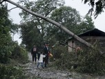 Porak-porandakan, Potret Badai Iota Hantam Amerika