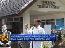 Jokowi: Vaksinasi Covid-19 Bisa Dilakukan Akhir Tahun 2020