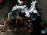 Intip Sulap Motor Tua Jadi Kendaraan Listrik
