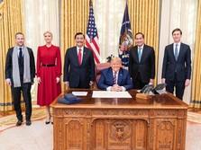 Luhut Ketemu Donald Trump di Gedung Putih AS, Bahas Apa?