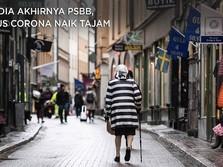 Swedia Akhirnya PSBB, Kasus Corona Naik Tajam