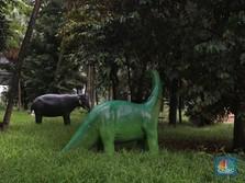Intip Potret Taman Martha Tiahahu Jakarta yang Terbengkalai