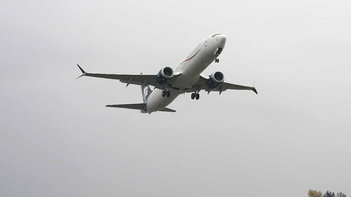 Boeing 737 Max dapat kembali mengudara setelah Administrasi Penerbangan Federal Amerika Serikat (FAA) mengeluarkan izin pada Rabu (18/11/2020). (AP/Ted S. Warren)
