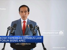 Jokowi Pamerkan Omnibus Law Di Forum Bisnis APEC