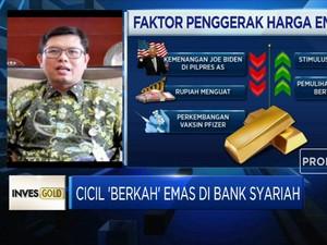 Intip Manfaat Cicil 'Berkah' Emas di Bank Syariah