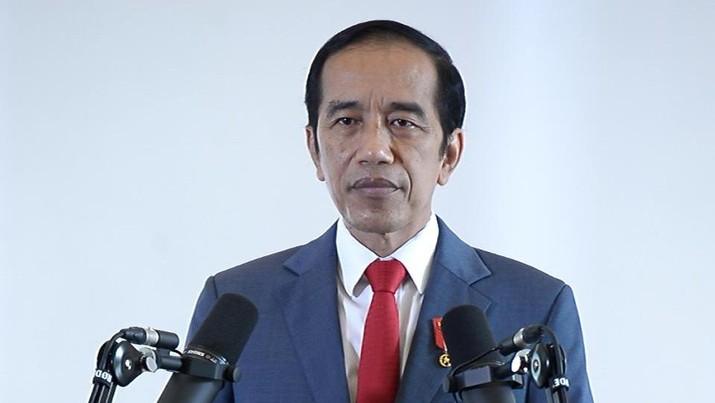 Jokowi di acara APEC CEO Dialogues. (Foto: Kris - Biro Pers Sekretariat Presiden)