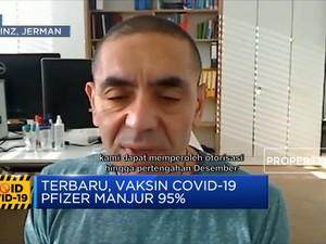 Terbaru, Vaksin Covid-19 Pfizer Manjur 95%