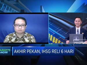 5 Hari Reli, IHSG Tembus Level 5.600