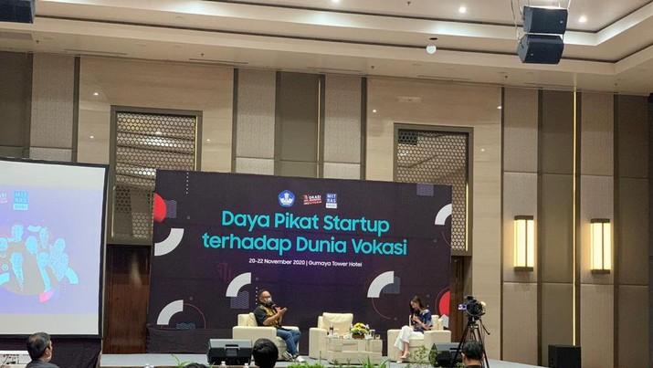 Acara Daya Pikat Startup terhadap Dunia Digital di Kota Semarang, Jawa Tengah.