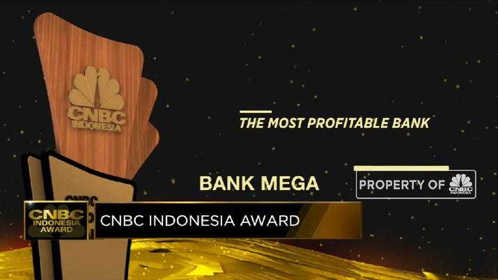 Bank Mega Raih Penghargaan The Most Profitable Bank  A(CNBC Indonesia TV)