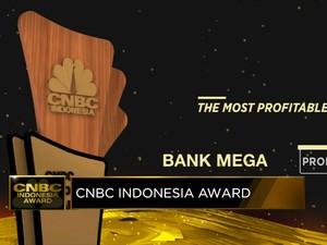 Bank Mega Raih Penghargaan The Most Profitable Bank