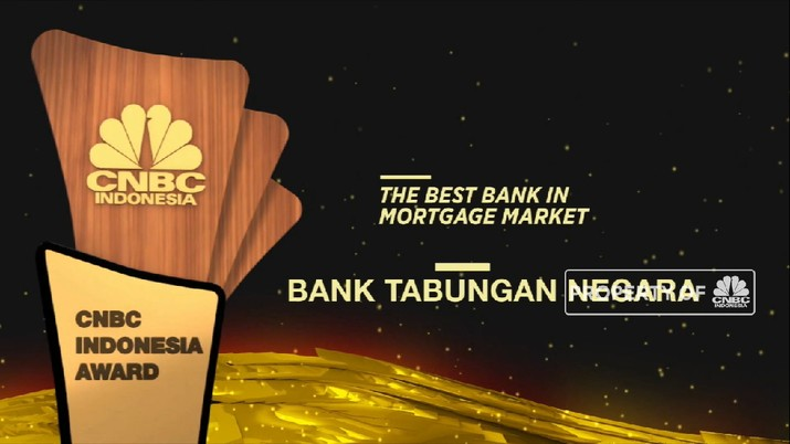 BTN Raih Penghargaan Sebagai The Best Bank In Mortgage Market  (CNBC Indonesia TV)