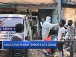 Kasus Covid-19 India Tembus 9 Juta Orang