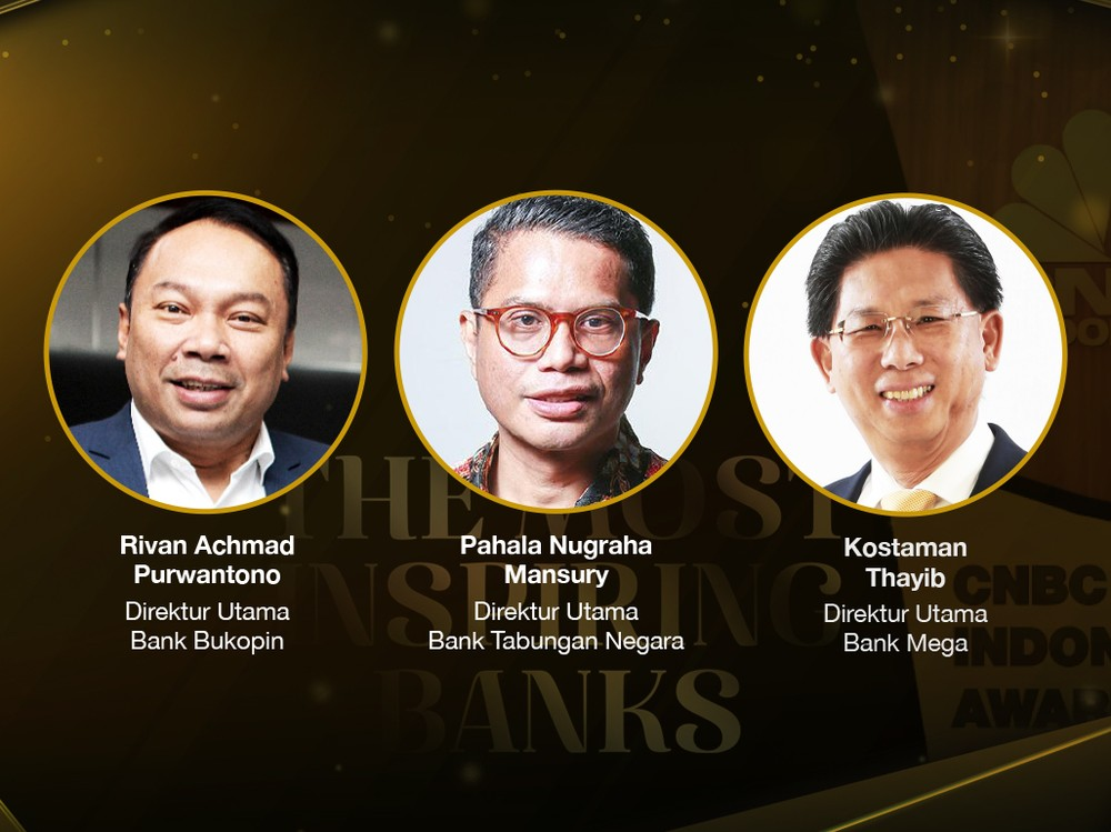 CNBC Indonesia Award: The Most Inspiring Banks