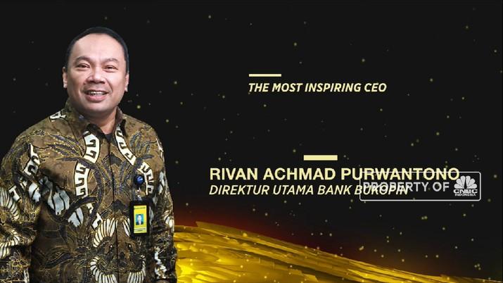 Dirut Bank Bukopin Diganjar Penghargaan The Most Inspiring CEO (CNBC Indonesia TV)