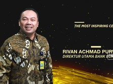 Dirut Bukopin Diganjar Penghargaan The Most Inspiring CEO