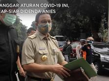 Langgar Aturan Covid-19 Ini, Siap-siap Didenda Anies