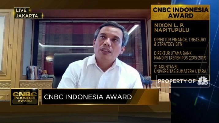 Optimisme Penyaluran  KPR Subsidi BTN di Tengah Pandemi(CNBC Indonesia TV)