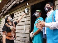 2.000 Rumah di Sumatera & Kalbar Dapat Sambung Listrik Gratis
