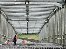 Jokowi Tuntaskan 3 Proyek Jembatan 'Kembar' di Riau