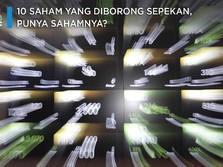 10 Saham Ini Diserok Asing Sepekan, Punya Gak Sahamnya?