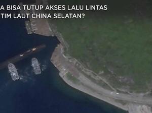 China Bisa Tutup Akses Lalu Lintas di Laut China Selatan?