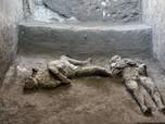 Penampakan Jasad 2.000 Tahun dari Lestusan Gunung Vesuvius