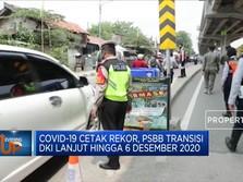 Duh! Covid-19 DKI Rekor, Anies: PSBB Transisi Lagi