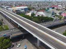 Penampakan Megahnya Tol Layang Pertama di Indonesia Timur