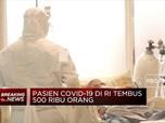 Pasien Covid-19 Di RI Tembus 500 Ribu Orang
