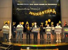 Channel Nusantara Hadir di Transvision: Dijamin Bikin Nagih!