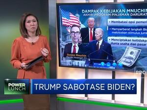 Trump Sabotase Biden?