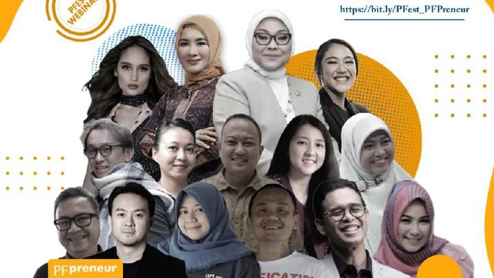 Cinta Laura dan Putri Tanjung berikan dukungan kepada perempuan Indonesia untuk menjadi womanpreneur sukses. Ist