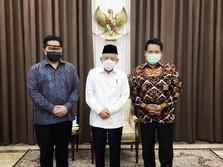 Erick Beri Bocoran ke Wapres Soal Merger 3 Bank Syariah BUMN